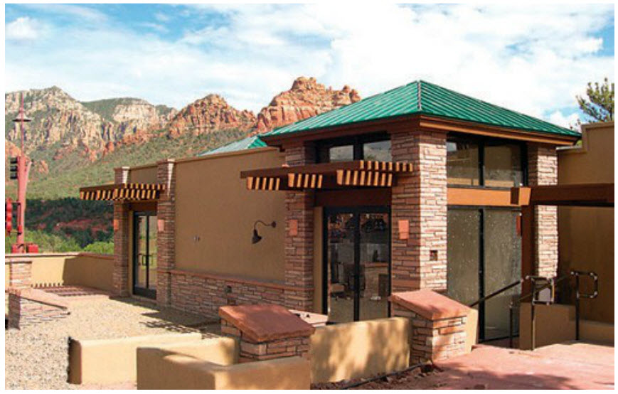 commercial design 1 sedona chamber of commerce visitor center
