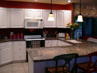 Kitchen After Remodel by Biermann