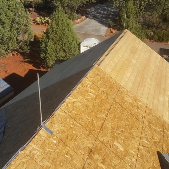 solar system for sedona residence roof photo