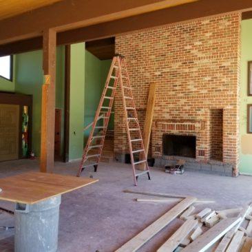 house remodel demolition