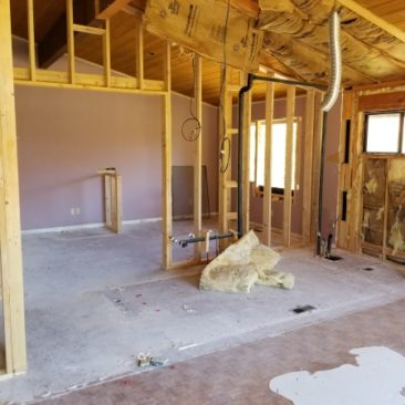 whole house remodel demolition