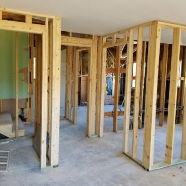 whole house remodel deconstruct