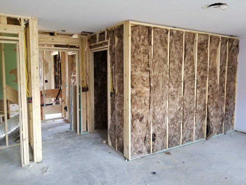 exterior bathroom wall insulation