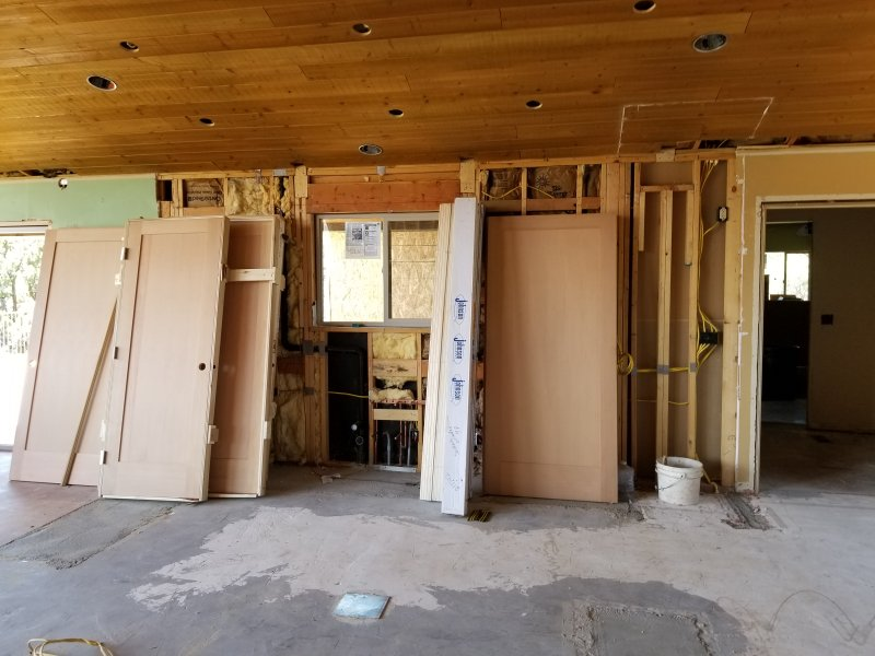 delivery of interior doors